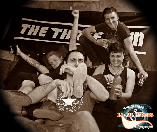 Die Punkrockband The Three Sum Ist Bereit So Richtig Durchzustarten Im Frhling Verffentlichen Sie Erste Single Ihres Neuen Albums Und Herbst