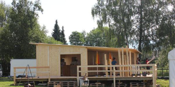Holzbar